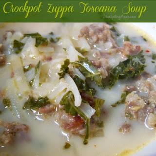 Crockpot Zuppa Toscana ~ Copycat Olive Garden