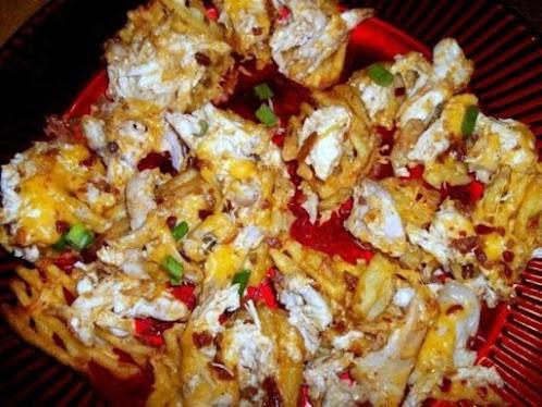 Cheesy Bacon Chicken Fries
