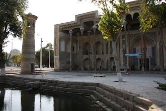 Photo: Day 164 - Bolo Hauz & Minaret in Bukhara