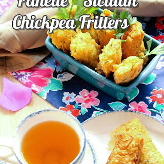 Panelle – Sicilian Chickpea Fritters.