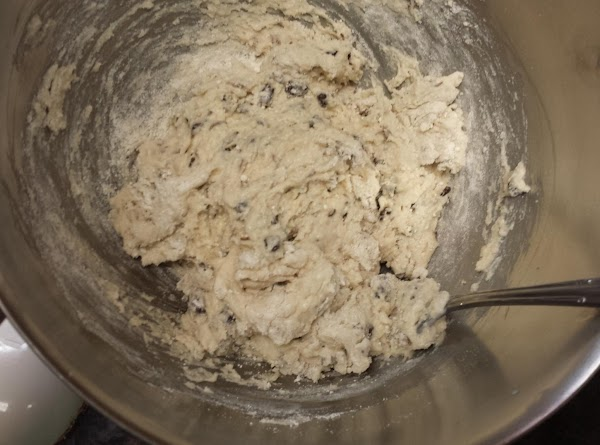Place baking mix into mixing bowl. Stir in buttermilk, sugar, currants, and caraway seeds...
