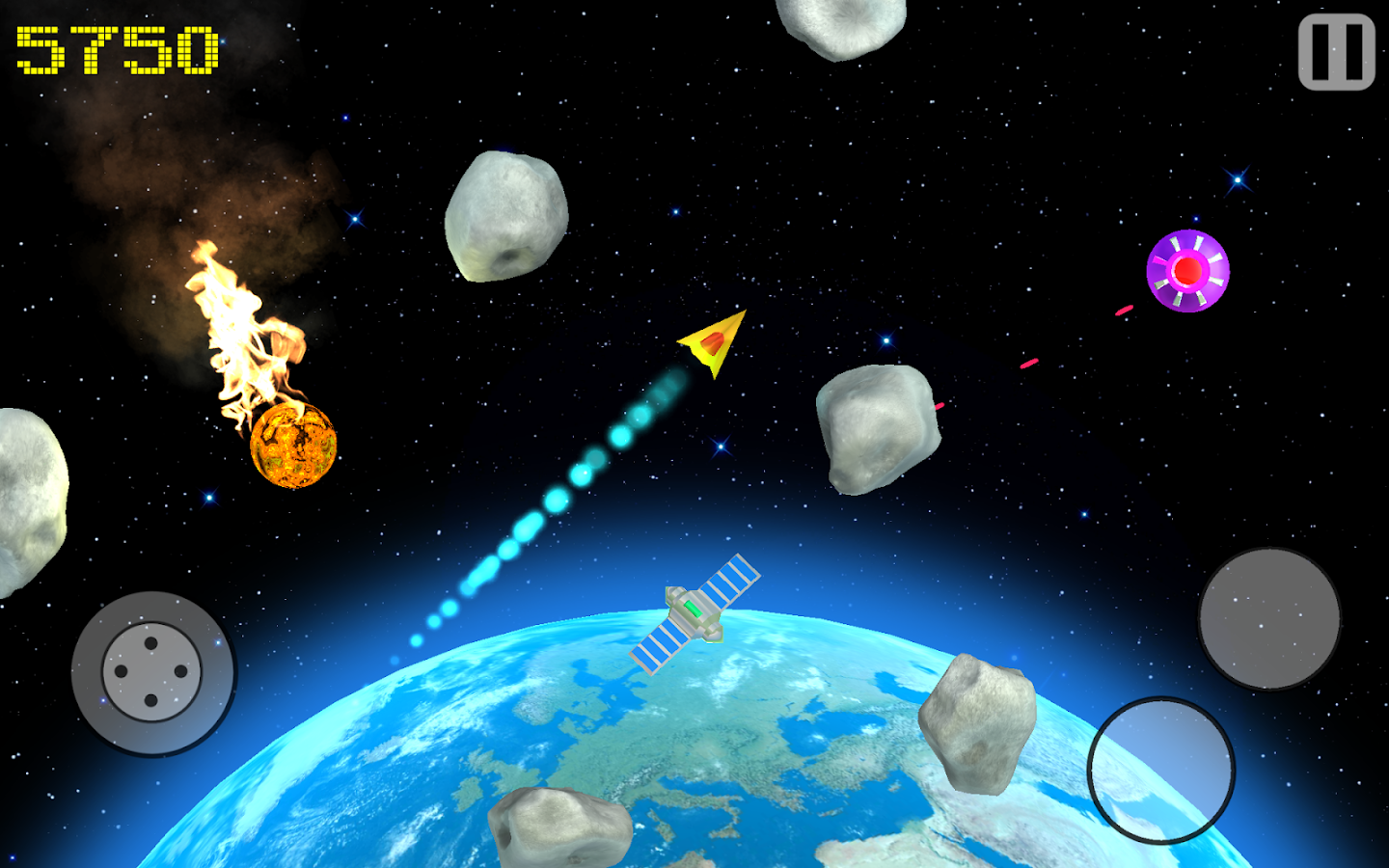 Space Defender Extreme- screenshot