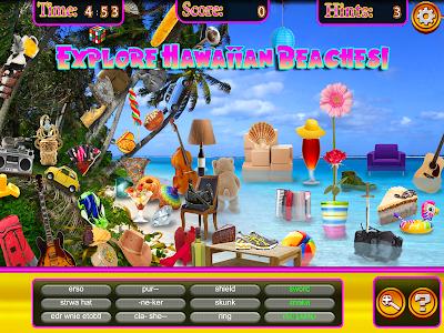 Hidden Objects Hawaii Vacation screenshot 8