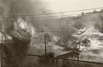 Photo: Brannen på Broene 27 mai 1936.
