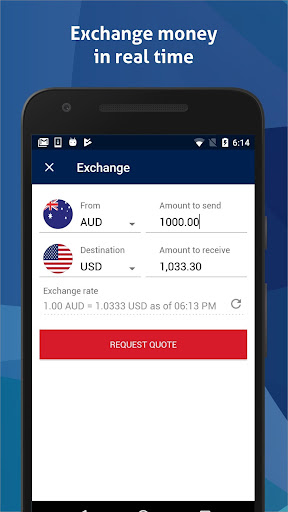 BankSA Global Currency Card - screenshot