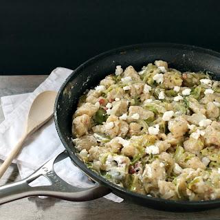 Slovak Haluski - Czech Potato Dumplings and Cabbage Dish