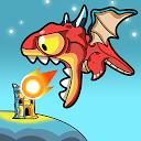 アイドルドラゴン-タワーディフェンスパズルゲーム