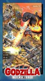 Godzilla Defense Force v 2 0 5 apk + hack mod (gold coins) for