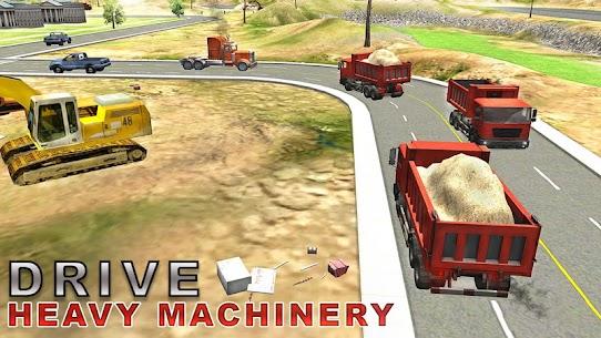 Heavy Excavator Simulator PRO 5.1 Android Mod + APK + Data 2