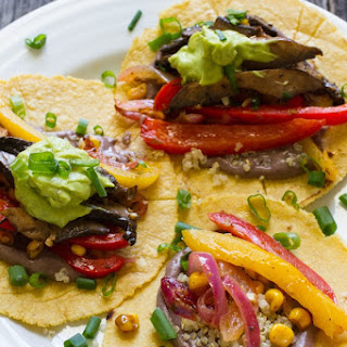Juicy Veggie Fajitas