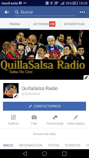 QuillaSalsa Radio Online screenshot 6