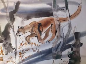 Photo: Ludvík Kunc - akvarel č. 11