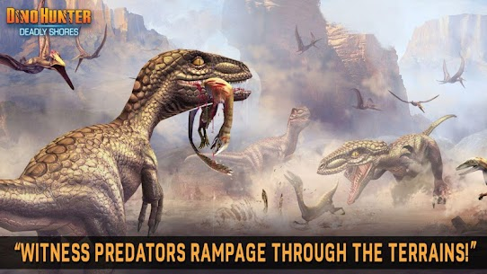DINO HUNTER: DEADLY SHORES MOD Apk (Unlimited Money) 6
