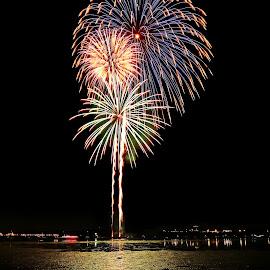 by Mike Lennett - Public Holidays July 4th ( fireworks, mike lennett )