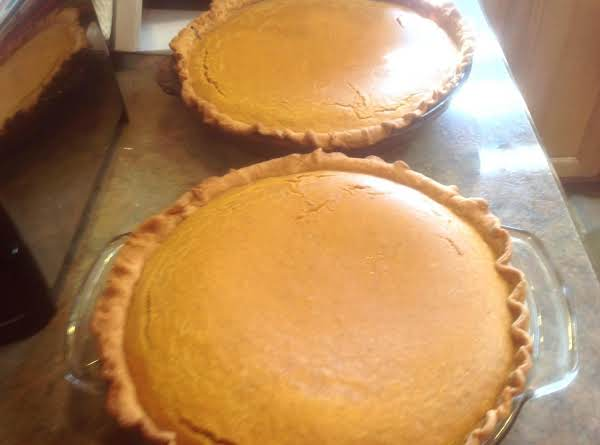 Stove Top Cream Cheese Pumpkin Pies Recipe