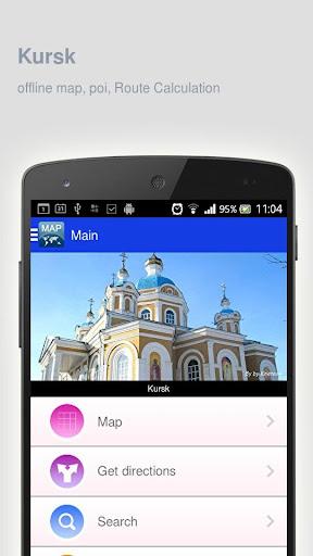 Kursk Map offline