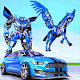 Real Police Transform Robot Unicorn Flying Horse Android apk