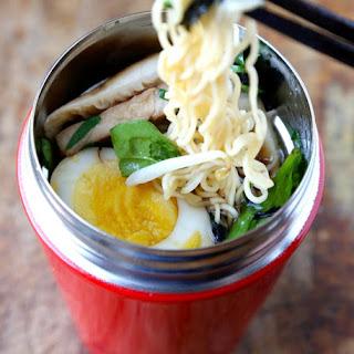 Ramen Noodle Soup To Go.