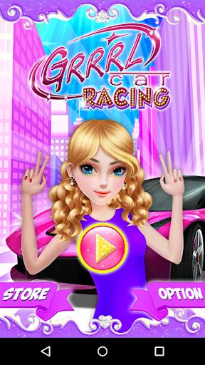 GRRRL Car Racing Game 2D