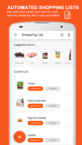 KitchenPal: For Smarter Cooking & Grocery Shopping screenshot