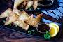 Crab Rangoon With a Simple Plum Sauce