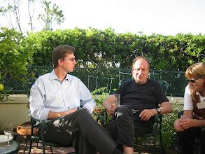 Photo: Professors Craig McKenzie and Louis Narens