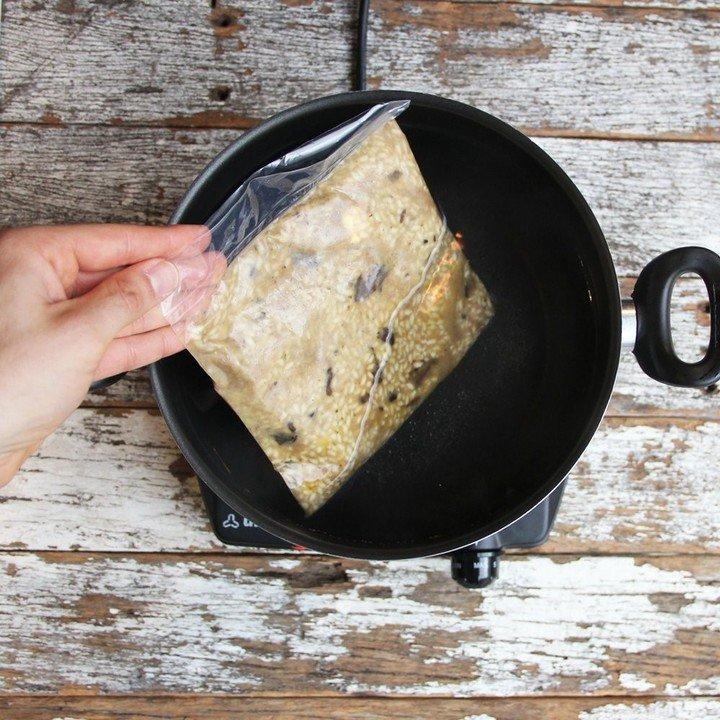 Al vacío. Una forma fácil de conservar y regenerar platos. Foto Simpleat