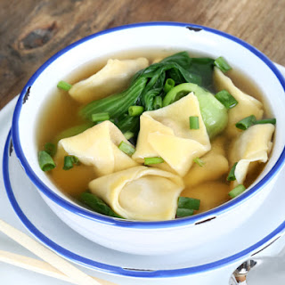 The Best Gluten Free Won Ton Wrappers + Won Ton Soup.