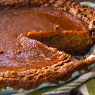 Chai Spiced Butternut Squash Pie Recipe with Gluten-Free Pecan-Walnut Crust