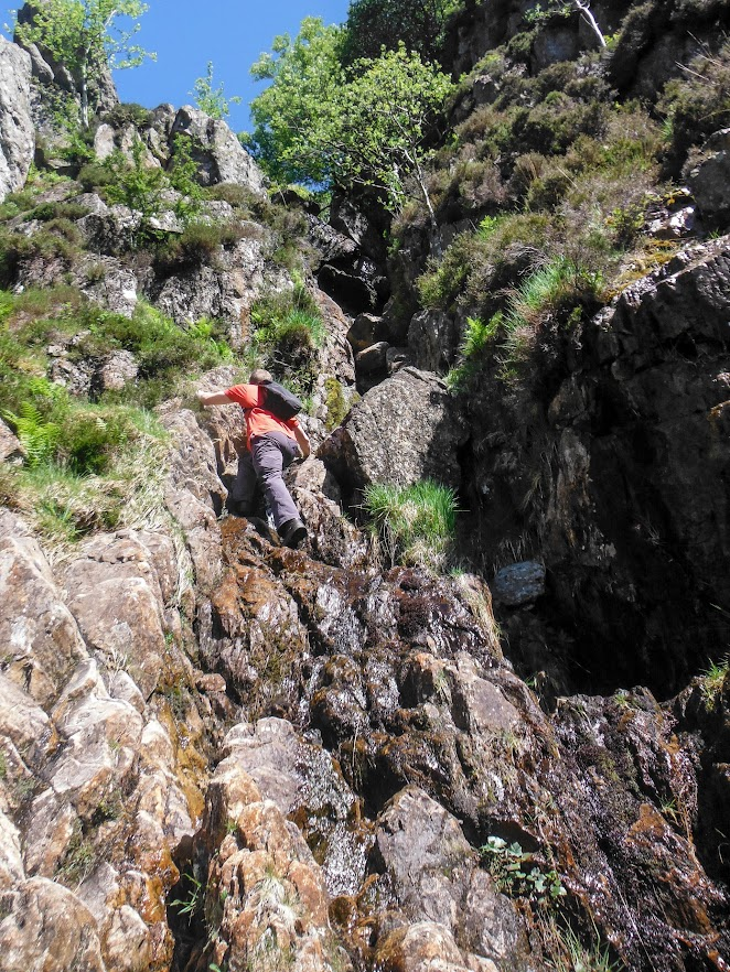 Bryants Gully - Initial Section