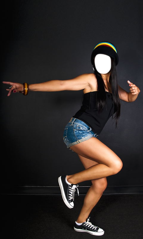 Hip hop girls photo editor android apps on google play hip hop girls photo editor screenshot voltagebd Image collections
