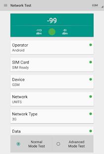 Network Signal Strength- screenshot thumbnail