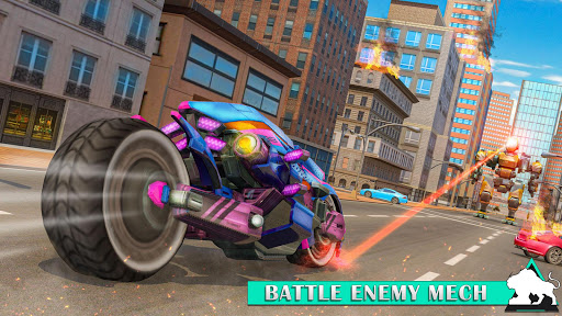 Flying Tiger Robot: Flying Bike Transformation 1.4 screenshots 7
