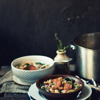 Chorizo and White Bean Stew
