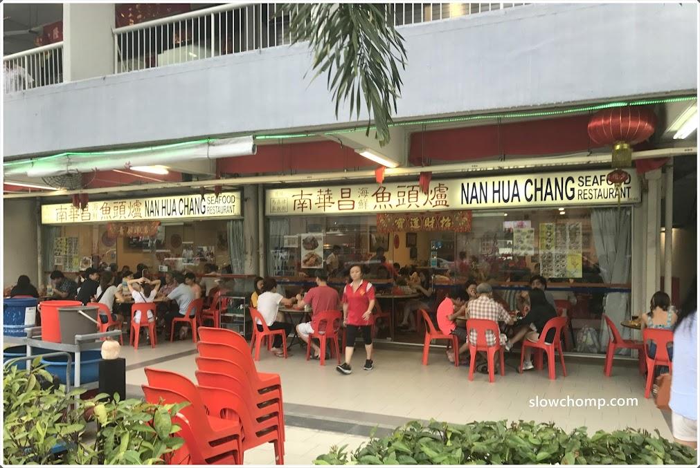 Good Food Near Ica Building