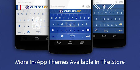 Chelsea FC Official Keyboard 3.2.47.73 screenshot 632530