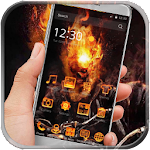 Fire Hell Skull Launcher icon