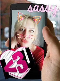 Cat Face Filter Effect - náhled