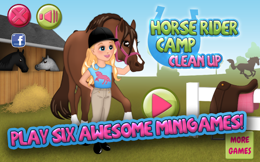 Horse Rider Camp Clean Up