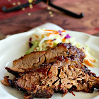 Delicious Oven Cooked Barbecue Brisket.