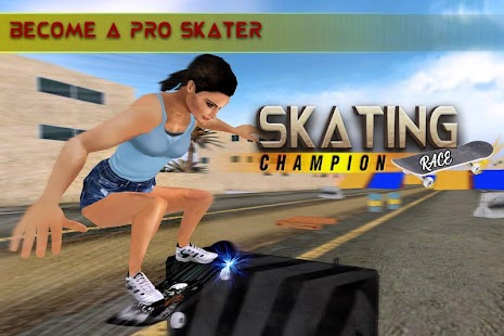 Street Skateboard Race Championship Club - náhled