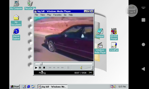 Win 98 Simulator 1.4.1 screenshots 2