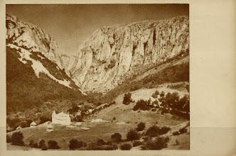 Photo: Cheile Turzii - cabana noua - 1960 sursa http://www.delcampe.net/page/item/id,299809916,var,Romania-Turda-Torda-Gorges-with-ResthouseAround-1960,language,E.html
