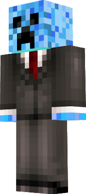 Blue Creeper!!! And In a suit :P