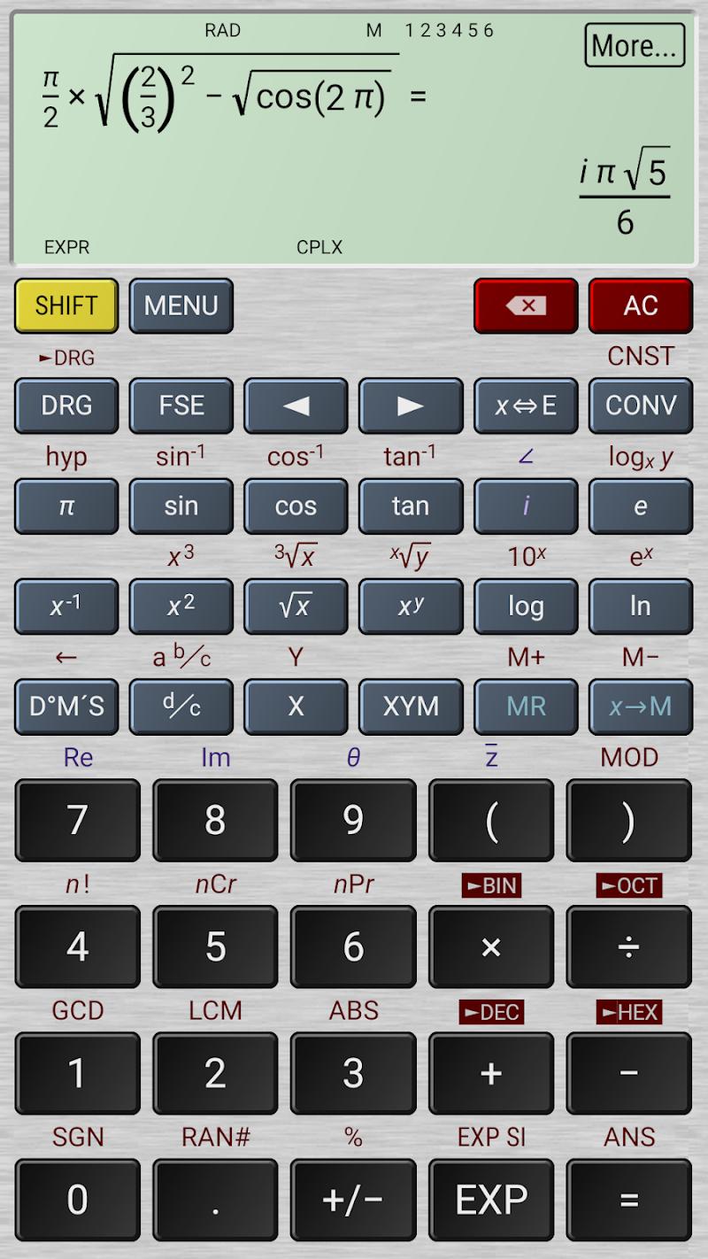 HiPER Calc Pro Screenshot 3