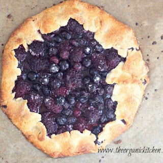 Blackberry Walnut Galette