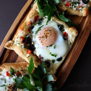 Mediterranean Breakfast Tarts.