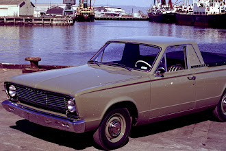 Photo: This is a VC Valiant ute on which the D106 is based.