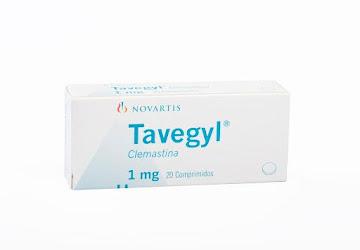 Tavegyl 1Mg Comprimidos Caja