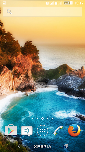 Theme Xperien Paradise screenshot 3